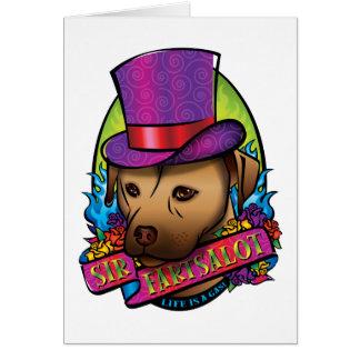 Sir Fartsalot Greeting Card