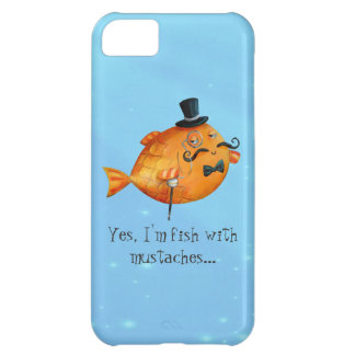 Sir Fishy Mustached Fish iPhone 5C Case