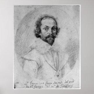 Sir Francis Crane Poster