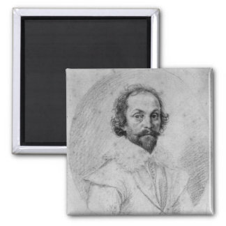 Sir Francis Crane Square Magnet