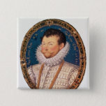 Sir Francis Drake, 1581 15 Cm Square Badge