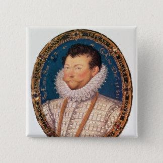 Sir Francis Drake, 1581 15 Cm Square Badge