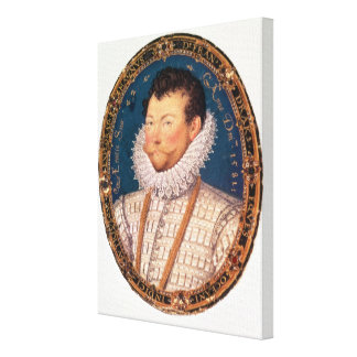 Sir Francis Drake, 1581 Canvas Print