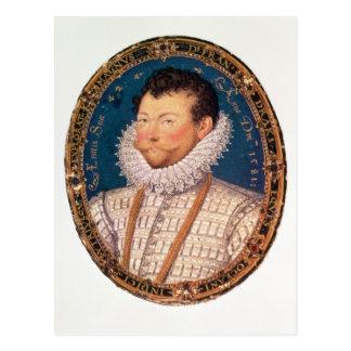 Sir Francis Drake, 1581 Postcard