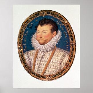Sir Francis Drake, 1581 Print