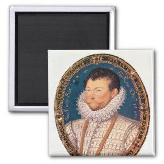 Sir Francis Drake, 1581 Square Magnet