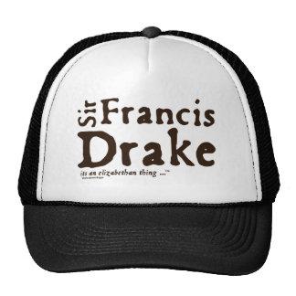 Sir Francis Drake: it's an Elizabethan Thing Mesh Hats
