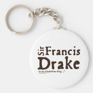Sir Francis Drake: it's an Elizabethan Thing Key Chain