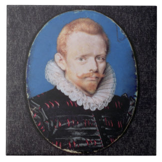 Sir Francis Drake Large Square Tile