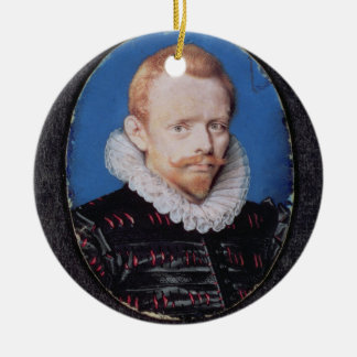 Sir Francis Drake Round Ceramic Decoration