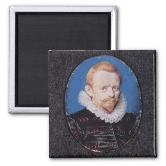 Sir Francis Drake Square Magnet