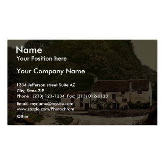 Sir Francis Drake's House near Severn Bridge, Gatc Business Card Templates