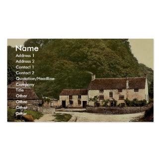 Sir Francis Drake's House near Severn Bridge, Gatc Business Card Template