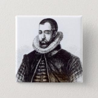 Sir Francis Walsingham 15 Cm Square Badge