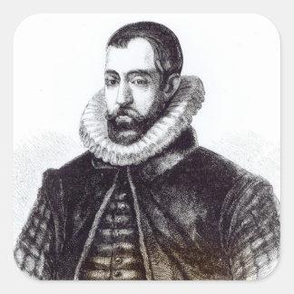 Sir Francis Walsingham Square Sticker
