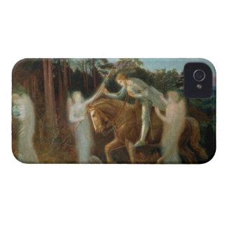 Sir Galahad, c.1894 (oil on canvas) iPhone 4 Cases