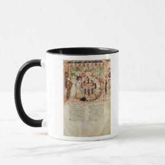 Sir Galahad is Welcomed to the Round Table Mug