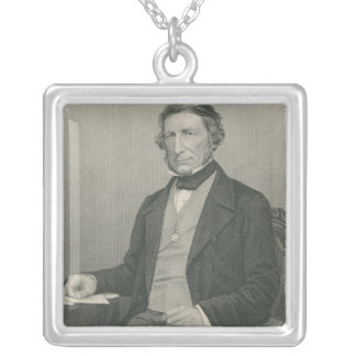 Sir George Cornewall Lewis Silver Plated Necklace