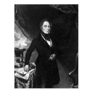 Sir George Staunton, 1839 Postcard