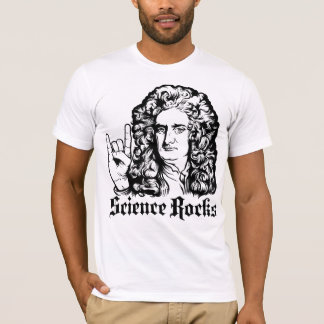Sir Isaac Newton Science Rocks Shirts