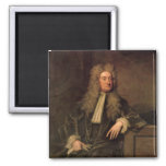 Sir Isaac Newton Square Magnet