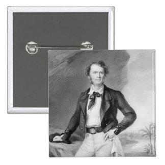 Sir James Brooke  Rajah of Sarawak, 1847 15 Cm Square Badge