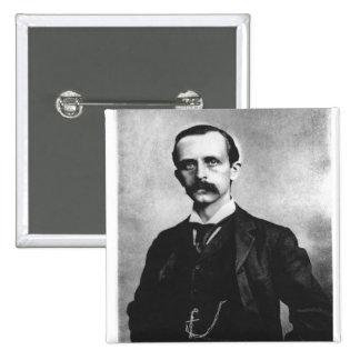 Sir James Matthew Barrie 15 Cm Square Badge