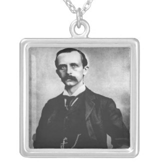 Sir James Matthew Barrie Silver Plated Necklace