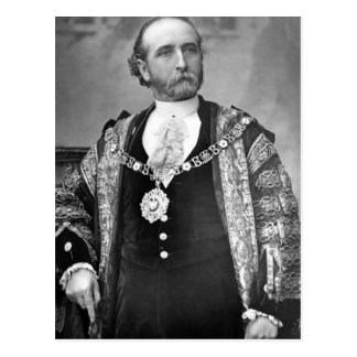 Sir James Whitehead, Lord Mayor of London Postcard
