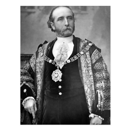 Sir James Whitehead, Lord Mayor of London Postcard