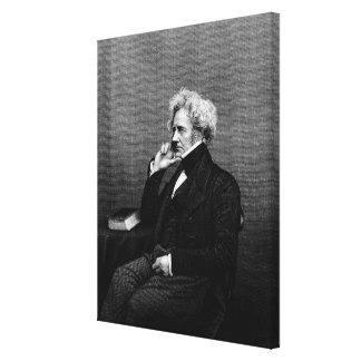 Sir John F.W. Herschel Canvas Print