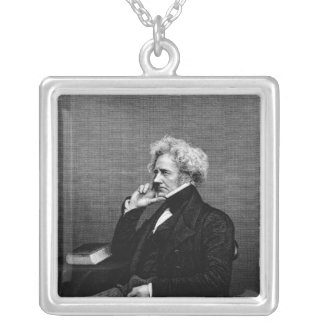 Sir John F.W. Herschel Silver Plated Necklace