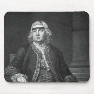 Sir John Fielding, engraved by James McArdell Mouse Pad