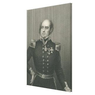 Sir John Franklin Canvas Print