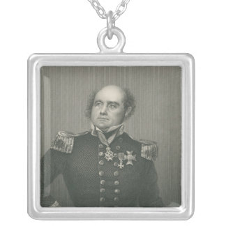 Sir John Franklin Silver Plated Necklace
