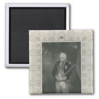 Sir John Jervis in 1795 Magnet