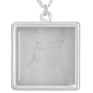 Sir John Mandeville Silver Plated Necklace
