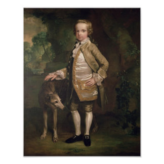 Sir John Nelthorpe, 6th Baronet as a Boy Poster