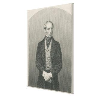 Sir John Somerset Pakington Canvas Print
