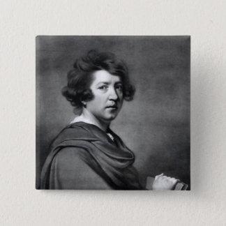 Sir Joshua Reynolds 15 Cm Square Badge