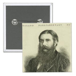 Sir Julius Vogel, KCMG 15 Cm Square Badge