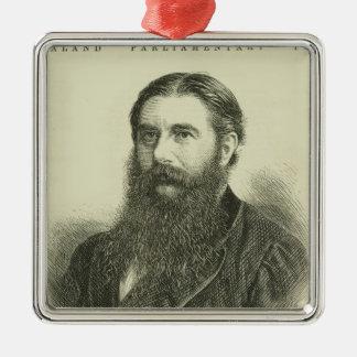 Sir Julius Vogel, KCMG Silver-Colored Square Decoration