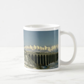 Sir Lamiel crosses Ribblehead Viaduct on the Settl Coffee Mug