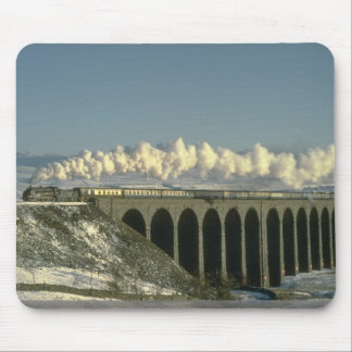 Sir Lamiel crosses Ribblehead Viaduct on the Settl Mouse Mat
