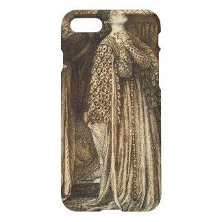 Sir Launcelot in Queen's Chamber Dante Rossetti iPhone 7 Case