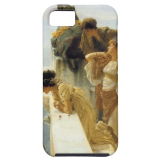 Sir Lawrence Alma-Tadema A Coign Of Vantage iPhone 5 Cover