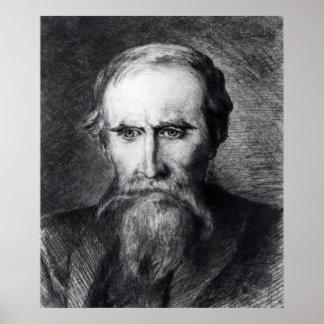 Sir Leslie Stephen 1889 Poster