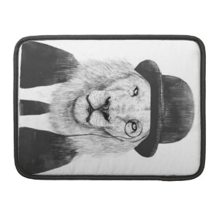 Sir lion sleeve for MacBook pro