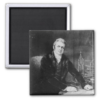 Sir Marc Isambard Brunel  1812-13 Magnet
