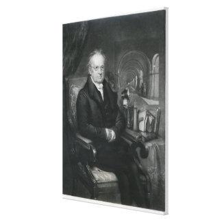 Sir Mark Isambard Brunel  c.1835 Canvas Print